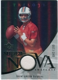 2007 Upper Deck Trilogy Supernova Swatches Silver #TG Trent Green /199