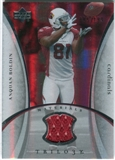 2007 Upper Deck Trilogy Materials Silver #AB Anquan Boldin /199
