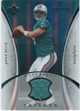 2007 Upper Deck Trilogy Materials Silver #JB John Beck /199