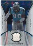 2007 Upper Deck Trilogy Materials Silver #JP Julius Peppers /199