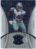 2007 Upper Deck Trilogy Materials Silver #MB Marion Barber /199