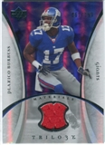 2007 Upper Deck Trilogy Materials Silver #PB Plaxico Burress /199