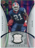 2007 Upper Deck Trilogy Materials Silver #WM Willis McGahee /199