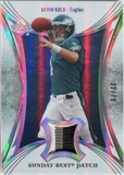 2007 Upper Deck Trilogy Sunday Best Jersey Patch #KK Kevin Kolb /79