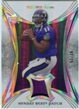 2007 Upper Deck Trilogy Sunday Best Jersey Patch #TS Troy Smith /79