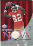 2007 Upper Deck Trilogy Supernova Swatches Patch #BO Dwayne Bowe /79