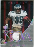 2007 Upper Deck Trilogy Supernova Swatches Patch #BW Brian Westbrook /79