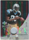 2007 Upper Deck Trilogy Supernova Swatches Patch #DJ Dwayne Jarrett /79