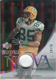 2007 Upper Deck Trilogy Supernova Swatches Patch #GJ Greg Jennings /79