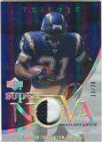 2007 Upper Deck Trilogy Supernova Swatches Patch #LT LaDainian Tomlinson /79
