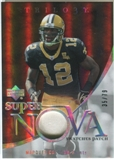2007 Upper Deck Trilogy Supernova Swatches Patch #MC Marques Colston /79