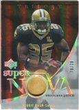 2007 Upper Deck Trilogy Supernova Swatches Patch #RB Reggie Bush /79