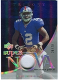 2007 Upper Deck Trilogy Supernova Swatches Patch #SS Steve Smith USC /79