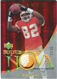 2007 Upper Deck Trilogy Supernova Swatches Patch Hologold #BO Dwayne Bowe /33