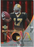 2007 Upper Deck Trilogy Supernova Swatches Patch Hologold #RM Robert Meachem /33