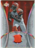 2007 Upper Deck Trilogy Materials Patch #CJ Chad Johnson /79