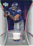 2007 Upper Deck Trilogy Materials Patch #JS Jeremy Shockey /79