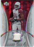 2007 Upper Deck Trilogy Materials Patch #LF Larry Fitzgerald /79
