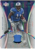 2007 Upper Deck Trilogy Materials Patch #RW Roy Williams WR /79