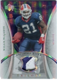2007 Upper Deck Trilogy Materials Patch #WM Willis McGahee /79