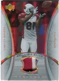2007 Upper Deck Trilogy Materials Patch Hologold #AB Anquan Boldin /33