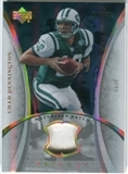 2007 Upper Deck Trilogy Materials Patch Hologold #CP Chad Pennington /33
