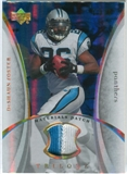 2007 Upper Deck Trilogy Materials Patch Hologold #DF DeShaun Foster /33