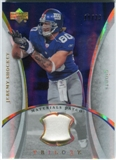 2007 Upper Deck Trilogy Materials Patch Hologold #JS Jeremy Shockey /33