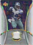 2007 Upper Deck Trilogy Materials Patch Hologold #MB Marion Barber /33