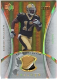 2007 Upper Deck Trilogy Materials Patch Hologold #RM Robert Meachem /33
