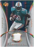 2007 Upper Deck Trilogy Materials Patch Hologold #TG Ted Ginn Jr. /33