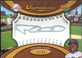 2007 Upper Deck Sweet Spot Signatures Silver Stitch Silver Ink #FP Felix Pie Autograph /99