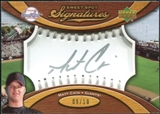 2007 Upper Deck Sweet Spot Signatures Silver Stitch Silver Ink #MC Matt Cain Autograph 9/18