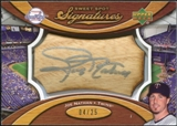 2007 Upper Deck Sweet Spot Signatures Bat Barrel Silver Ink #JN Joe Nathan Autograph /25