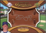 2007 Upper Deck Sweet Spot Signatures Glove Leather Silver Ink #RH Rich Hill Autograph /25