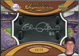 2007 Upper Deck Sweet Spot Signatures Black Glove Leather Silver Ink #GP Glen Perkins Autograph /25