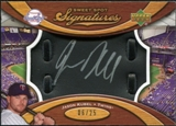 2007 Upper Deck Sweet Spot Signatures Black Glove Leather Silver Ink #JK Jason Kubel Autograph /25