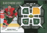 2007/08 Upper Deck Black Diamond Jerseys #BDJAH Adam Hall
