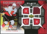 2007/08 Upper Deck Black Diamond Jerseys #BDJAT Alex Tanguay
