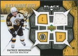 2007/08 Upper Deck Black Diamond Jerseys #BDJBE Patrice Bergeron