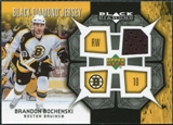 2007/08 Upper Deck Black Diamond Jerseys #BDJBO Brandon Bochenski