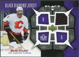 2007/08 Upper Deck Black Diamond Jerseys #BDJBS Brad Stuart