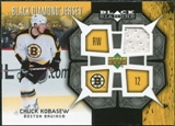 2007/08 Upper Deck Black Diamond Jerseys #BDJCK Chuck Kobasew