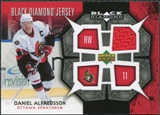 2007/08 Upper Deck Black Diamond Jerseys #BDJDA Daniel Alfredsson