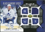 2007/08 Upper Deck Black Diamond Jerseys #BDJDT Darcy Tucker