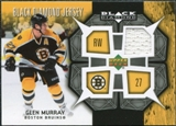2007/08 Upper Deck Black Diamond Jerseys #BDJGM Glen Murray