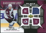 2007/08 Upper Deck Black Diamond Jerseys #BDJHE Milan Hejduk