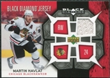 2007/08 Upper Deck Black Diamond Jerseys #BDJHM Martin Havlat