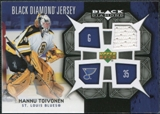 2007/08 Upper Deck Black Diamond Jerseys #BDJHT Hannu Toivonen