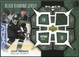 2007/08 Upper Deck Black Diamond Jerseys #BDJJU Jussi Jokinen